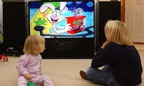 kids watching tv at night. study: watching cartoons just before bedtime linked to night terrors kids tv at e