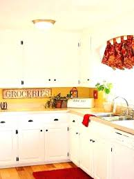 yellow country kitchens. Yellow And Red Kitchen Accents Kitchens  Image . Cabinets Country E