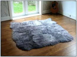 Safavieh Sheepskin Rug Faux