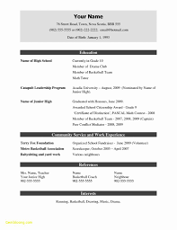 Simple Resume Format Free Download Lcysne Com
