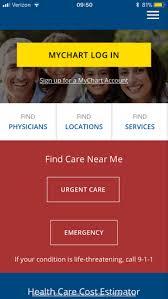 Ur Medicine My Chart Urmc Login Page Myurmedicine On The App Store