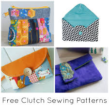 Purse Sewing Patterns Gorgeous 48 FREE Clutch Sewing Patterns To Bust Your Stash
