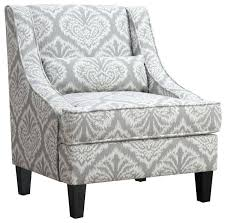 accent armchair seating jacquard patterned chair aldi