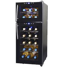aw 210ed newair thermoelectric wine cooler awesome portable wine cellar