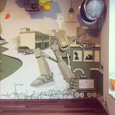 Kitchen Mural Kitchen Mural The Hammo