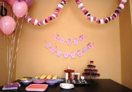 birthday decoration indian home balloon decoration ideas for