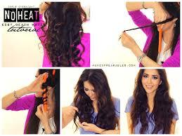 Beach Wave Hair Style noheat beach waves overnight tutorial for short medium long hair 3355 by wearticles.com