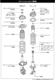 Subaru Spring Rate Chart Hipermax G Suspension Product Hks