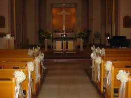 Wedding Ideas Catholic Church Wedding Ceremony Decorations