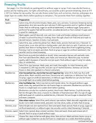 Freezing Fruits And Vegetables Osu Extension Catalog