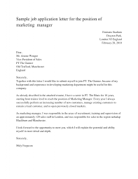 Cover Letter Employment How To Write Application Letter For Job Employment 15