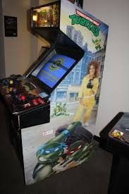 Ninja Turtles Arcade Cabinet This Screen Always Got Me So Excited As A Kid Gaming