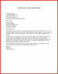 Content Administrator Cover Letter Leadership Trainer Sample