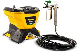 Pneumatic sprayers are good for most home painting applications including kitchen cabinets and furniture which makes them one of the best paint sprayers for home use. Wagner 0580678 Control Pro 130 Power Tank Paint Sprayer High Efficiency Airless With Low Overspray Amazon Com
