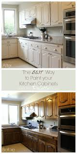 The Best Way To Paint Kitchen Cabinets Diy With Decoart Kitchen