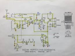 antique radio forums • view topic knight ocean hopper 749 schematic as built image