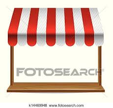 store window clipart. Simple Clipart Clip Art  Store Window With Striped Awning Fotosearch Search Clipart  Illustration Posters Inside Store Window Clipart O
