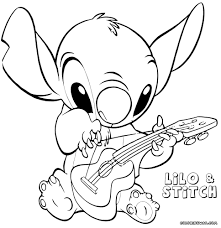 Educations Christmas Lilo And Stitch Coloring Pages 21 Baby 1946008