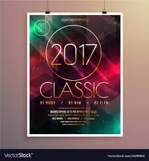 Event Flyers Free 2017 New Year Party Event Flyer Template With