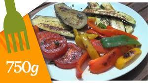 Recettes Legumes Plancha
