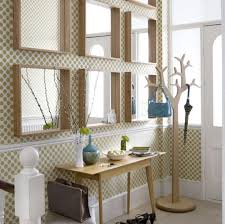 hallway decorating ideas with mirrors