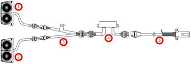 wesbar agricultural lights w 7 pole connector and enhanced wesbar ag light kit enhanced lighting module diagram
