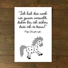 Karte Grußkarte Geburtstagpippi Sprüche Motivation