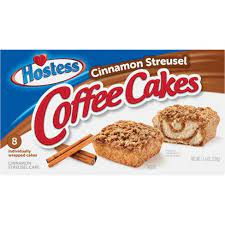 By philly favorites 4.5 out of 5 stars 15 $28.69 $ 28. Hostess Cinnamon Streusel Coffee Cake 8ct 11 6oz Target
