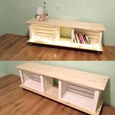 crate tv stand crate stand white best ideas on and barrel