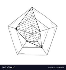 Radar Chart Illustrator Sketch Of The Radar Chart