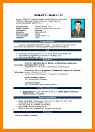 Cv Format In Microsoft Word 10 Cv Format Ms Word 2007 Resume
