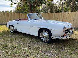 Low retail value this vehicle would be in mechanically functional condition, needing only minor reconditioning. Mercedes Benz 190sl W121 Market Classic Com