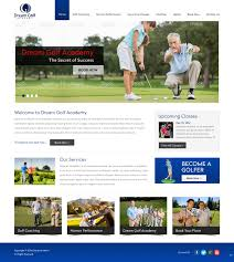 Golf Course Website Design Modern Professional Golf Course Web Design For A Company