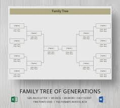 free family tree template word blank family tree template 31 free word pdf documents download