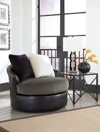 Swivel Living Room Chairs Contemporary Furniture Elegant Armchair Design With Comfortable Swivel Accent