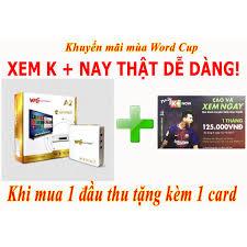 ANDROID TV BOX 1G A2 (CÓ KẾT NỐI BLUETOOTH) l Tivi Box Chính Hãng tặng thẻ  K+ Mua 1 được 2 - MuaZii
