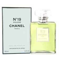 chanel 19 poudre. chanel no.19 poudre by 100ml edp 19 h