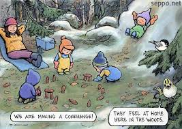 Children Education Cartoons Feel At Home In Nature Environmental Cartoons