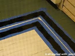 linda s painted rug