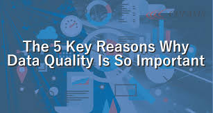 The 5 Key Reasons Why Data Quality Is So Important