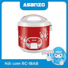 Nồi Cơm Điện Asanzo RC-18AB chính hãng, giá rẻ bán tại Asanzo Hà Nội