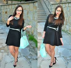 chanel 3282. natalia uliasz - granashop necklace, mosquito black dress, primark handbag, czas na buty chanel 3282 i