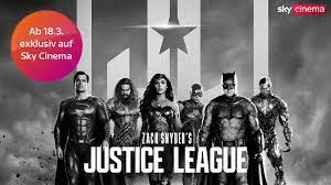 Zack Snyder's Justice League: Ab 10,99 € bei Sky Ticket