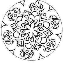 Small Picture Mandalas for ADVANCED Coloring pages Printable Coloring Pages