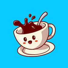 Free for commercial use high quality images Free Vector Cute Happy Coffee Cup Cartoon Vector Icon Illustration Drink Character Icon Concept Flat Cartoon Style