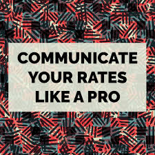 How To Be A Freelance Textile Designer How To Communicate Your Rates Like A Pro Textile Design