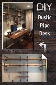 Pipe Desk Design 60 Diy Desk Ideas Updated For 2019