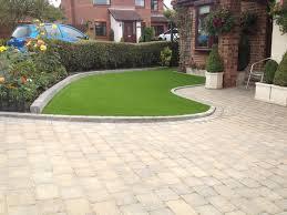 front garden grass area driveway