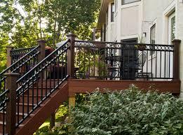Decorative Metal Porch Posts Metal Porch Railing Porch Design Ideas Decors