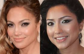 jennifer lopez makeup tutorial jlo glow golden globes inspired look